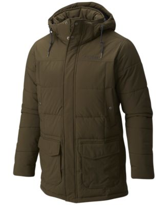 Black mens outerwear jacket