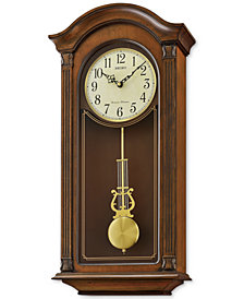 Seiko Traditional Classics Wooden Pendulum Wall Clock