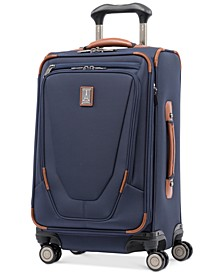 "CLOSEOUT! Crew™ 11 21"" Carry-On Expandable Spinner Suitcase with USB charging port"