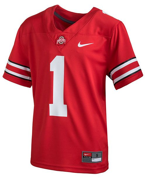 cheap for discount 53d8f aab40 Ohio State Buckeyes Replica Football Game Jersey, Toddler Boys