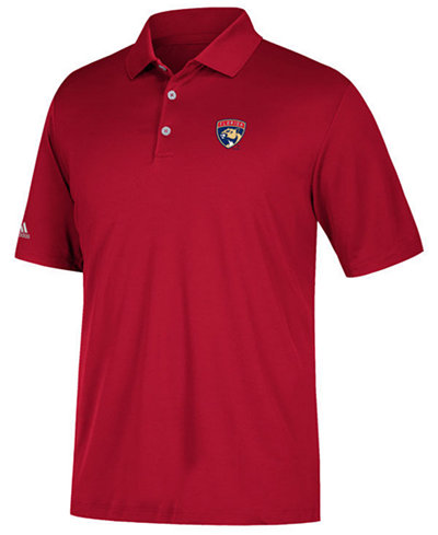 adidas Men's Florida Panthers Power Play Primary Polo
