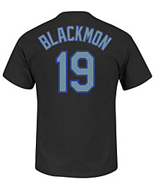 Majestic Men's Charlie Blackmon Colorado Rockies Official Player T-Shirt