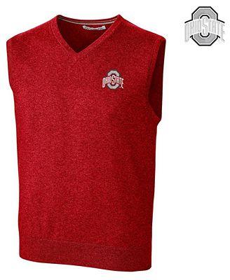 Cutter & Buck Men's Ohio State Buckeyes Lakemont Sweater Vest ...