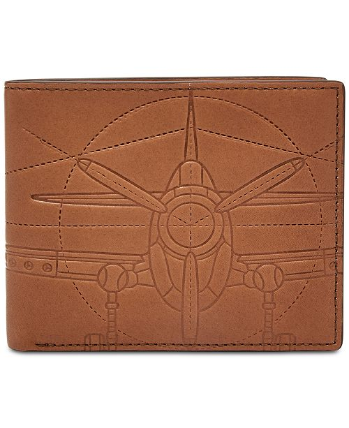 Fossil Men's Axel Leather Bifold Wallet