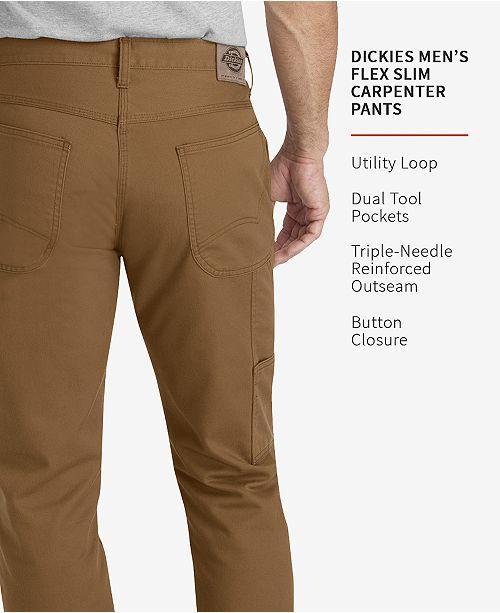 f9f8cfe64dd51 Ies Men S Flex Slim Tapered Fit Carpenter Pants Reviews. Women S Herie Stonewashed  Duck Carpenter Pants Brown Sbd