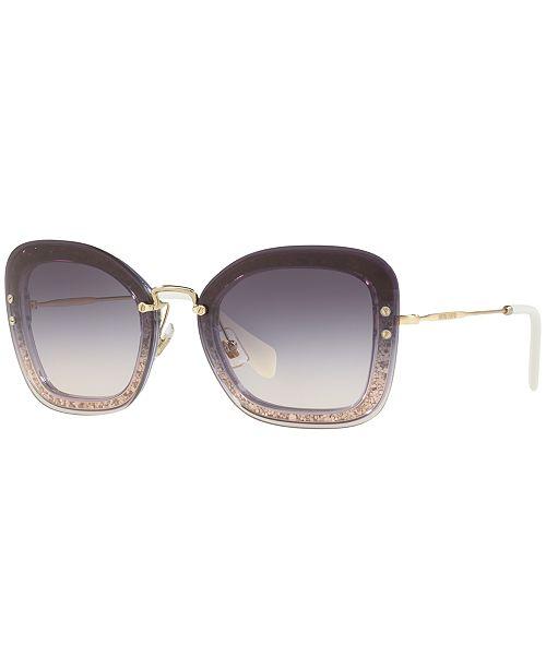 MIU MIU Sunglasses, MU 02TS - Sunglasses by Sunglass Hut - Handbags ... 3a0c3a3cb6