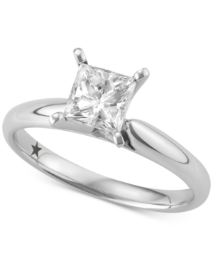 Princess Cut Solitaire Engagement Ring (1 ct. t.w.) in 14k White Gold