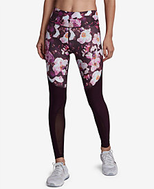 Nike Power Legend Printed Mesh-Inset Leggings