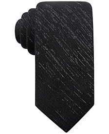 Ryan Seacrest Distinction™ Men's Shimmer Chiffon Solid Tie, Created for Macy's