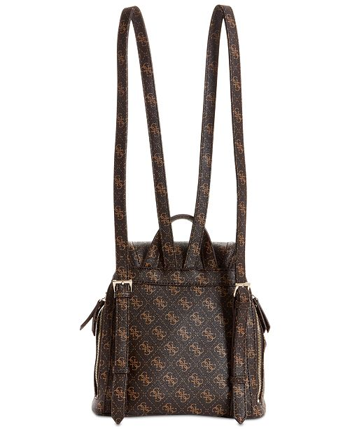 GUESS Terra Small Studded Signature Backpack - Handbags ... 759cd02fb0592