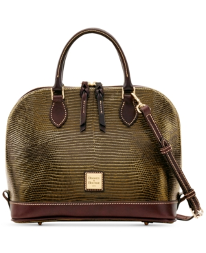 Dooney & Bourke Lizard-Embossed...