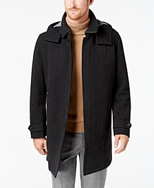Men's Lansing Overcoat with Removable Hood