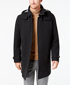 Lauren Ralph Lauren Men's Lansing Overcoat with Removable Hood