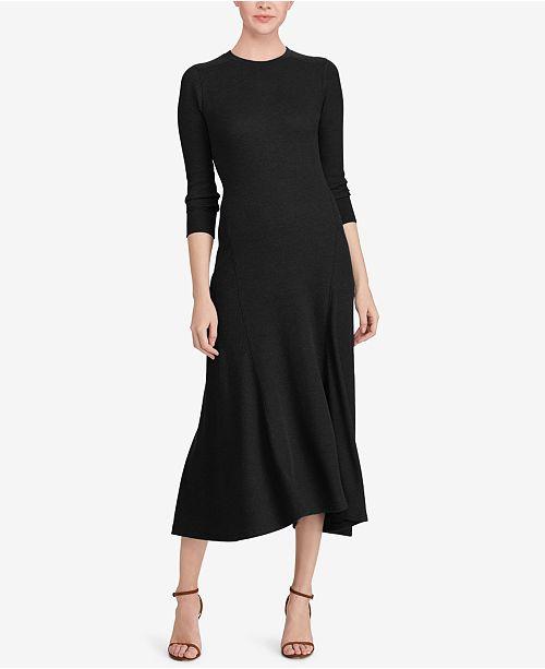 Polo Ralph Lauren Fit Amp Flare Knit Dress Dresses Women