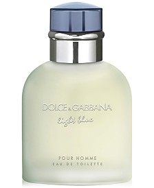 DOLCE&GABBANA Men's Light Blue Pour Homme Eau de Toilette Spray, 1.3 oz.