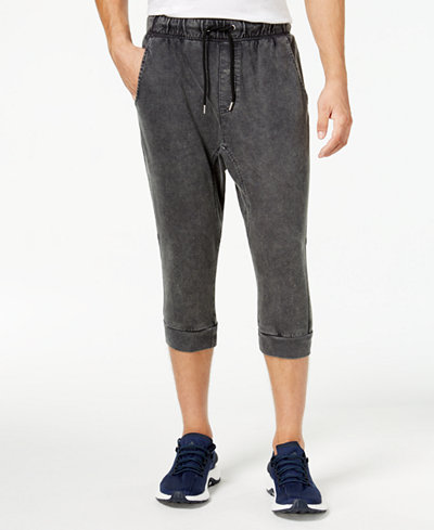 American Rag Men's Cropped Jogger Pants, Created for Macy's