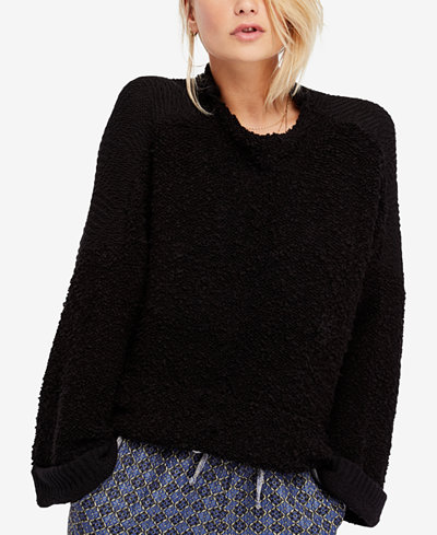 Free People Cuddle Up Pullover Sweater