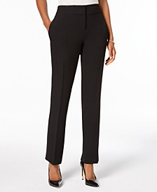 Slim Straight-Leg Modern Trousers