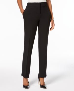 Slim Straight-Leg Modern Trousers