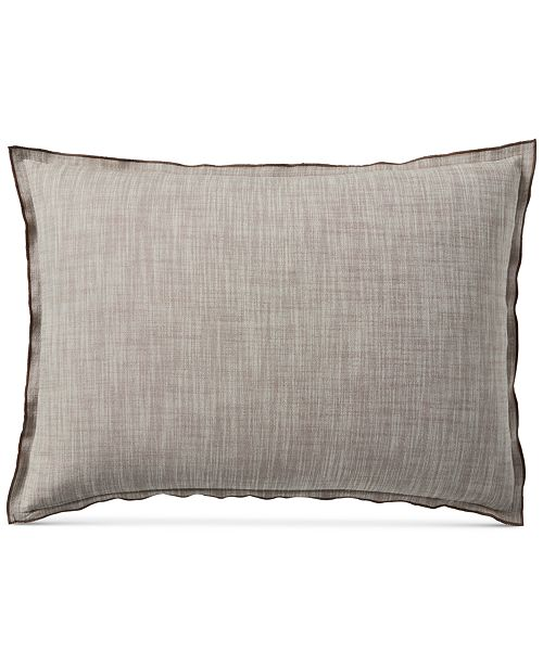 Hotel Collection Pebble Diamond Quilted Standard Sham