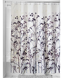 "Interdesign Botanical Freesia 72"" x 72"" Shower Curtain"