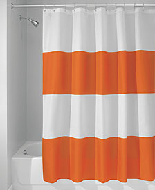 "Interdesign Zeno Stripe 72"" x 72"" Shower Curtain"