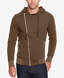WILLIAM RAST Men's Cruiser Asymmetrical Full-Zip Hoodie