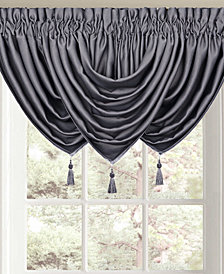 "Queen Street Morocco 42"" x 40"" Rod Pocket Waterfall Valance"