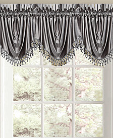 "Queen Street Sonata 43"" x 29"" Rod Pocket Festoon Valance"