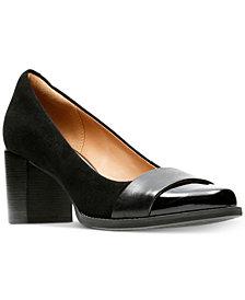Clarks Artisan Women's Tarah Brae Block-Heel Pumps