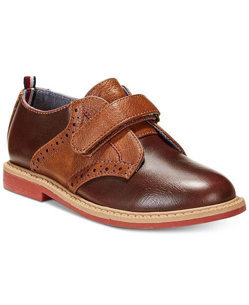 f7ca5beb ... Tommy Hilfiger Michael Saddle-T Dress Shoes, Toddler Boys & Little ...