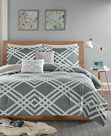 Intelligent Design Hailey 4-Pc. Twin/Twin XL Comforter Set