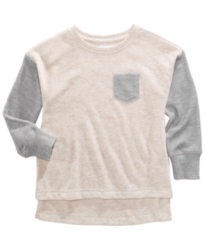 Epic Threads Colorblocked French Terry Pullover Sweatshirt Toddler Girls (2T5T) Created for Macys