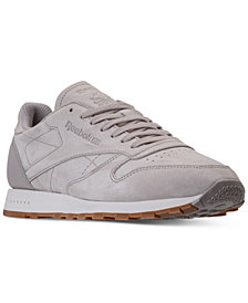 Reebok Men's Classic Leather SG Casual Sneakers from Finish Line