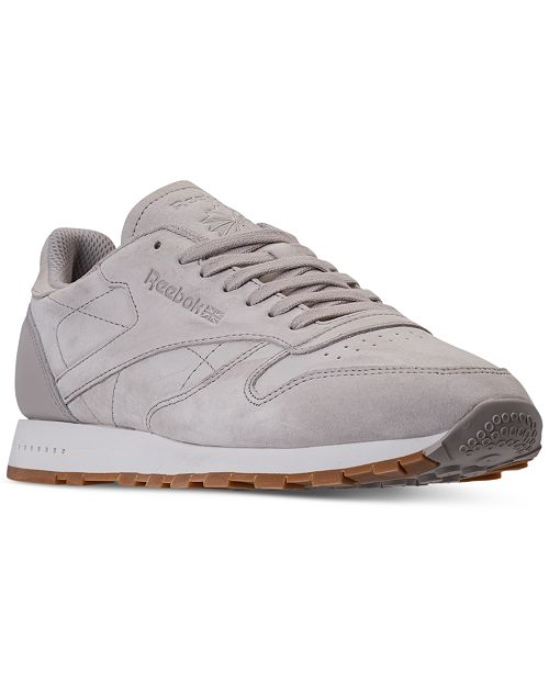 c386b9331cc161 Reebok Men s Classic Leather SG Casual Sneakers from Finish Line ...