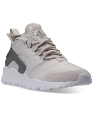 Women'S Air Huarache Run Ultra Running Sneakers From Finish Line, Gunsmoke/Vast Grey-Partic