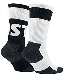 Nike Men's Sportwear 2-Pk. Crew Socks