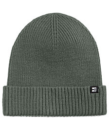 Block Hats Men's Ribbed-Cuff Beanie
