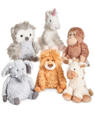 First Impressions Baby Boys Girls 8 Plush Animals Collection
