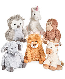 "First Impressions Baby Boys & Girls 8"" Plush Animals Collection, Created for Macy's"