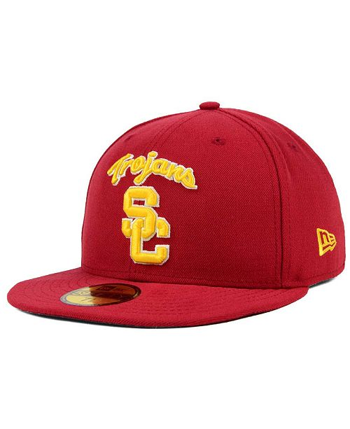 327ae9941 New Era USC Trojans AC 59FIFTY Fitted Cap & Reviews - Sports Fan ...