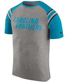 Nike Men's Carolina Panthers Enzyme Shoulder Stripe T-Shirt