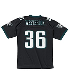 Men's Brian Westbrook Philadelphia Eagles Replica Throwback Jersey