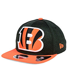 New Era Cincinnati Bengals Heather Huge 9FIFTY Snapback Cap