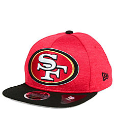 New Era San Francisco 49ers Heather Huge 9FIFTY Snapback Cap