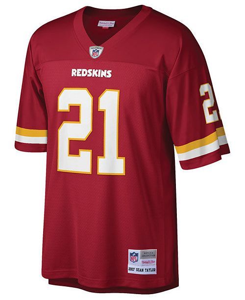 best sneakers 57f5b 6a230 Men's Sean Taylor Washington Redskins Replica Throwback Jersey