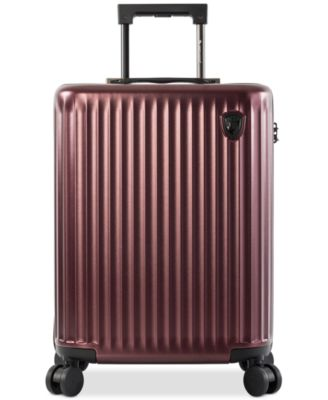 "SmartLuggage® 21"" Hardside Spinner Carry-On Suitcase, Created for Macy's"