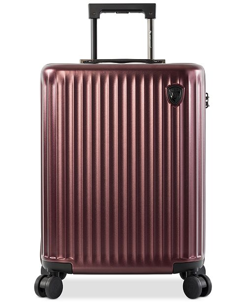 """Heys CLOSEOUT! SmartLuggage® 21"""" Hardside Spinner Carry-On Suitcase, Created for Macy's"""