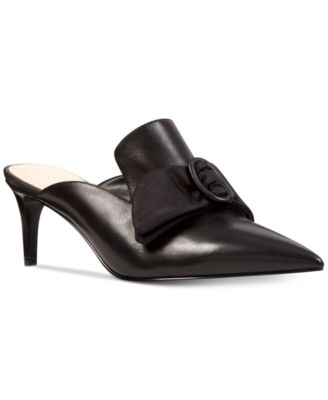 Nine West Womens SENDSHOES Leather Pump