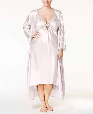 Plus Size Satin Stella Robe by General